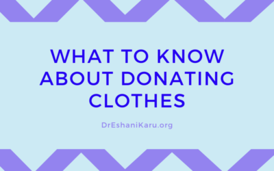 What to Know About Donating Clothes